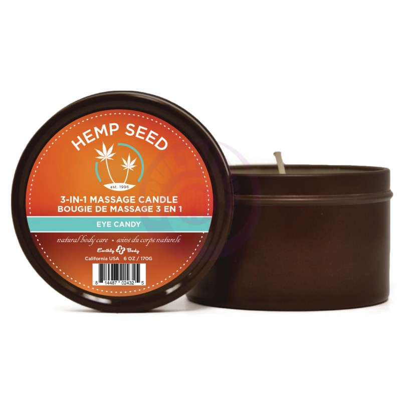 Hemp Seed 3-in-1 Candle - Eye Candy