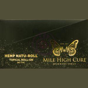 Mile High Cure Hemp Natu-Roll Tropical Roll on 10ml 100mg 10ct Display
