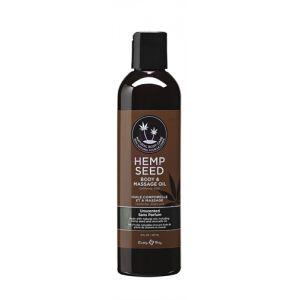 Hemp Seed Massage Oil - 8 Fl. Oz. - Unscented