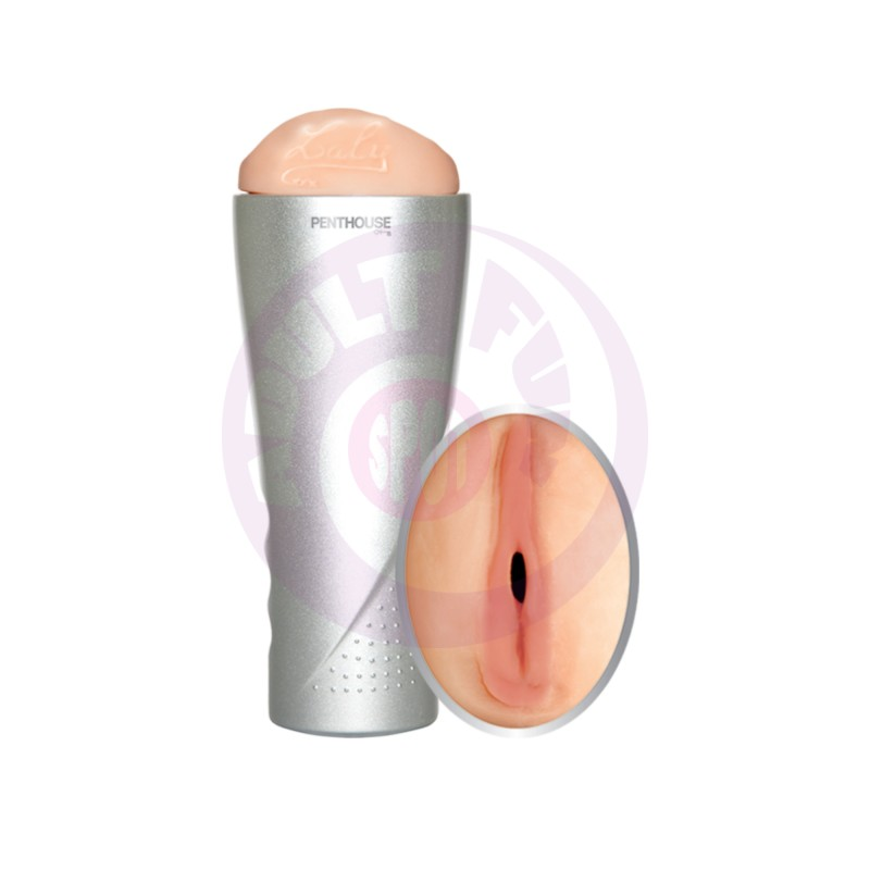 Penthouse Deluxe Cyberskin Vibrating Stroker -  Laly