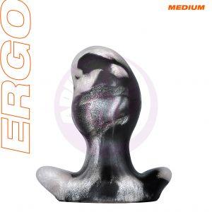 Ergo Butt Plug - Medium - Platinum Swirl
