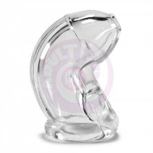 Cock Lock Chastity Sheath Atomic Jock - Clear