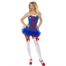 Fever Tutu Sailor Costume - Extra Small