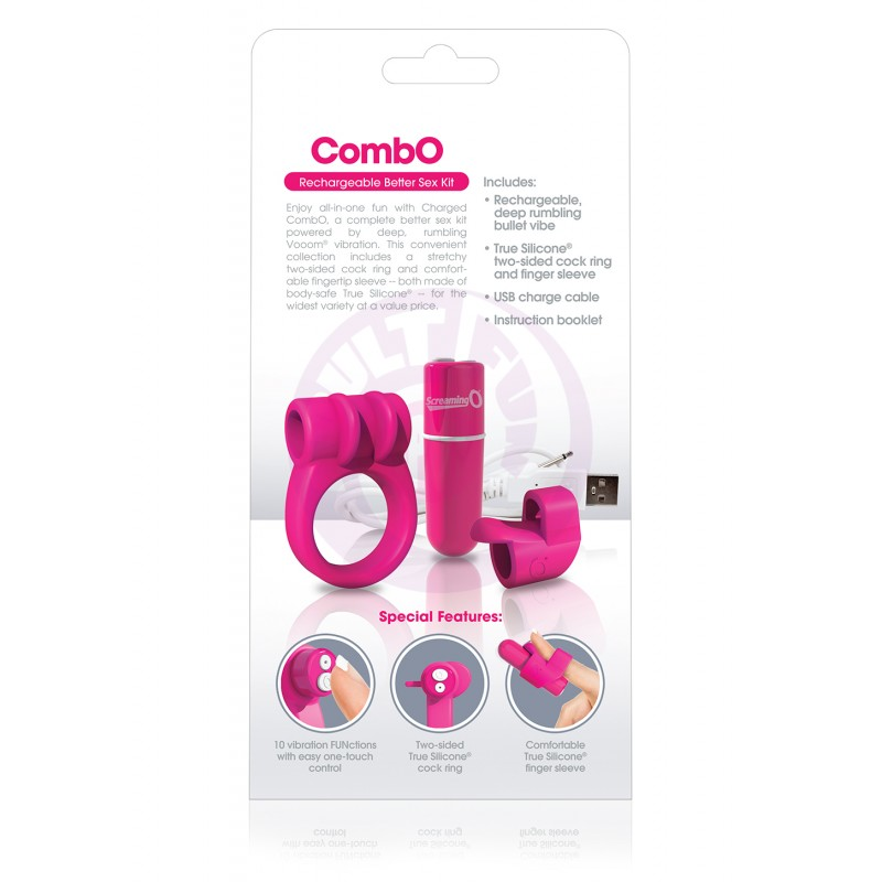 Charged Combo Kit #1 - Pink