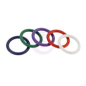 "Rubber C-Ring Set - 1.25"" - Rainbow"