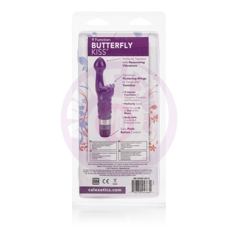 9 Function Butterfly Kiss - Platinum Edition -  Purple