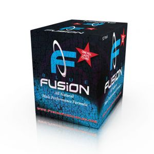 Blue Fusion Male Enhancement 24 Piece Display Box