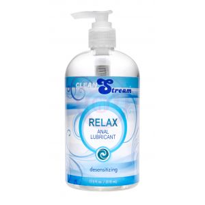 Relax Desensitizing Anal Lubricant - 17 Oz