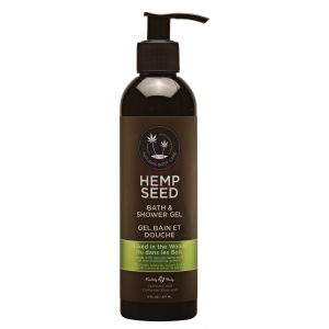 Hemp Seed Bath and Shower Gel - Naked in the Woods - 8 Oz./ 237ml