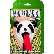 Bad Ass Panda Bikini - One Size - Black