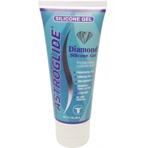 Astroglide Diamond Silicone Gel - 3 Oz.