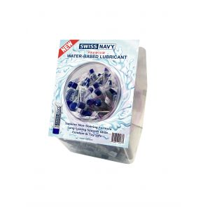 Water-Based Lubricant 10ml 100pc Fishbowl Display