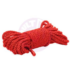 Scandal BDSM Rope 32.75ft/ 10m - Red