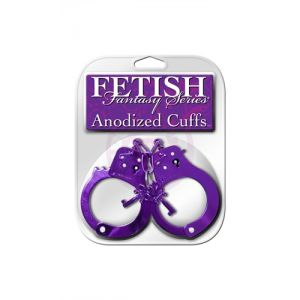 Fetish Fantasy Anodized Cuffs - Purple