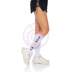 Lick Me Knee Socks