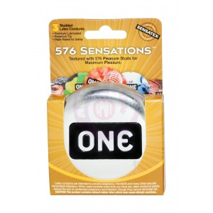 One 576 Sensations - 3 Pack