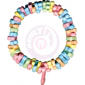 Rainbow Penis Candy Bracelet