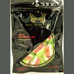 Mile High Cure Hemp Sour Watermelon Gummies 1000mg - Single Pack