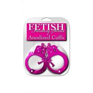 Fetish Fantasy Anodized Cuffs - Pink