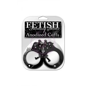 Fetish Fantasy Anodized Cuffs - Black