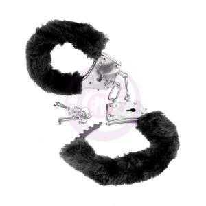 Fetish Fantasy Series Beginner's Furry Cuffs - Black