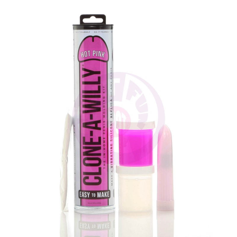 Clone-a-Willy Kit - Hot Pink