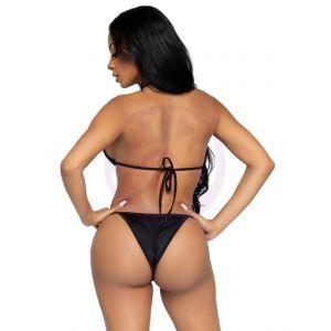 2 Pc Phoenix Bikini Set - Black - Medium