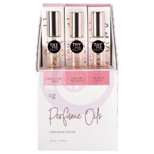 Perfume Oils Tester and Display - 15ct