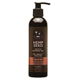 Hemp Seed Bath and Shower Gel – Isle of You - 8 Oz./ 237ml