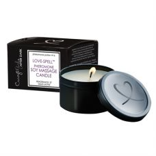 Crazy Girl After Dark Love Spell Pheromone Soy Massage Candle - Black Orchid - 6 Oz.