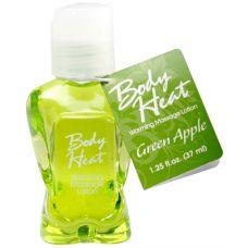 Body Heat Warming Massage Lotion - 1.25 Fl. Oz. - Green Apple