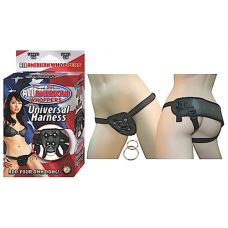 All American Whoppers-Universal Harness-Black
