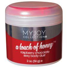 A Touch of Honey - Raspberry Chocolate Sexy Body Dust - 2 Oz. Jar (56g)