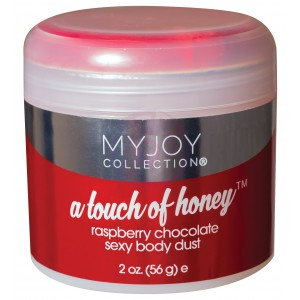 A Touch of Honey - Raspberry Chocolate Sexy Body Dust - 2 Oz. Jar (56g)