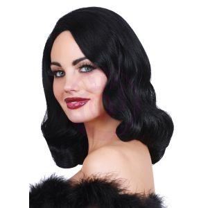 Hollywood Glamour Wig Black