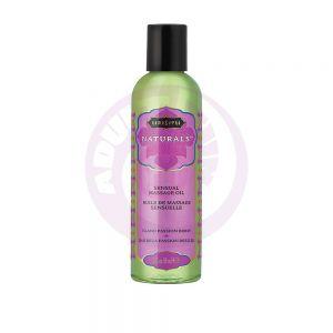 Naturals Massage Oil - Island Passion Berry - 2 Fl Oz (59 ml)