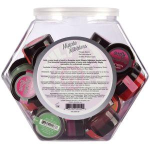 Nipple Nibblers Tingle Balm - 36 Pc. Bowl - 3gm Jars Assorted