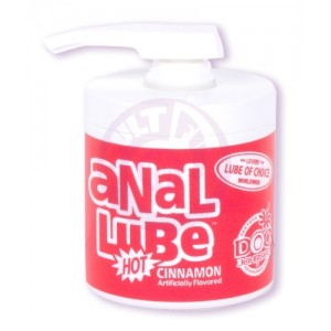 Anal Lube Hot Cinnamon 4.75 Oz Bulk