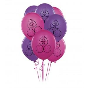 Bachelorette Party Favors - 8 Pecker Balloons