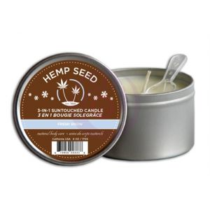Hemp Seed 3-in-1 Massage Candle - Sunsational - 6 Oz.