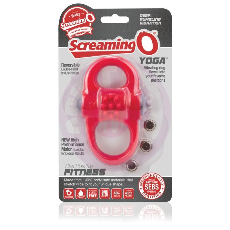 Screamingo Yoga - 6 Count Box - Red