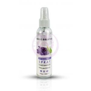 Basic Solutions Hand Sanitizer Spray - Lavender - 4 Oz.