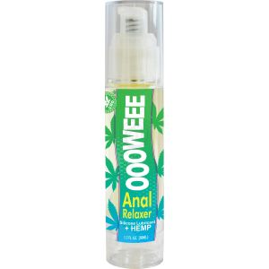 Oooweee Anal Relaxer Silicone Lubricant Plus Hemp - 1.7 Fl. Oz. / 50 ml