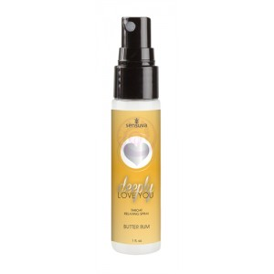Deeply Love You Throat Relaxing Spray 1 Oz - Butter Rum