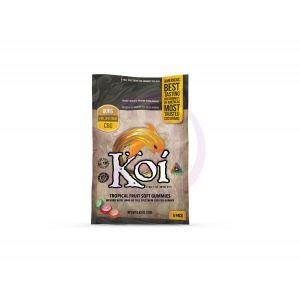 Koi CBD Tropical Fruit Gummies - 12 Piece Display  - 6 Count Bags