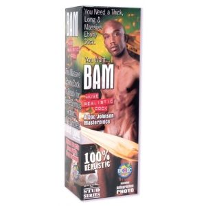 Bam Huge 13 Inch Realistic Cock With Removable Vac-U-Lock Suction Cup