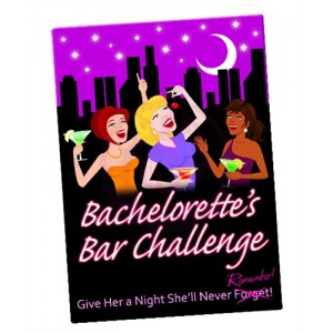 Bachelorette's Bar Challenge - Card Game