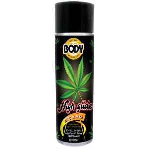 High Glide Erotic Lubricant 8.5 Oz Bottle