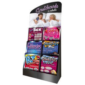 Scratchcard Display Holder