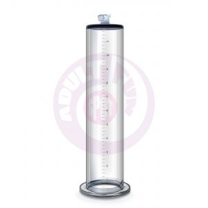 Performance – 12 Inch X 2.5 Inch Penis Pump  Cylinder – Clear